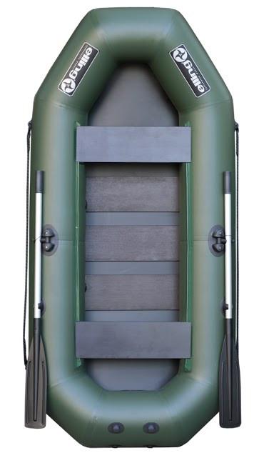 Elling 240СNМ Navigator - лодка надувная гребная Эллинг Навигатор 240 с реечным ковриком