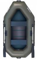 Aqua Storm st240c - лодка надувная двухместная Шторм 240 с реечным ковриком, фото 1