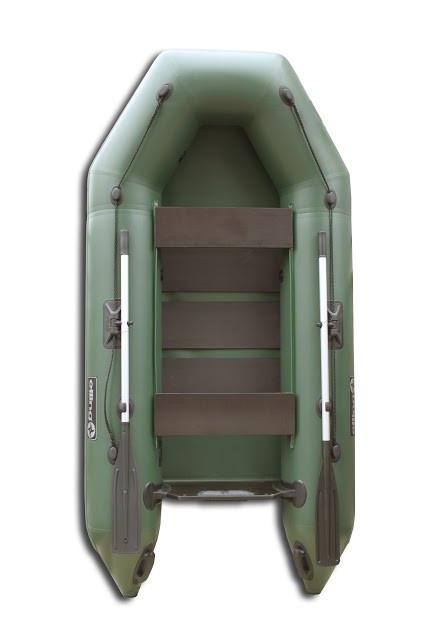 Elling 270C Forsage - лодка надувная моторная Эллинг Форсаж 270 с реечным ковриком