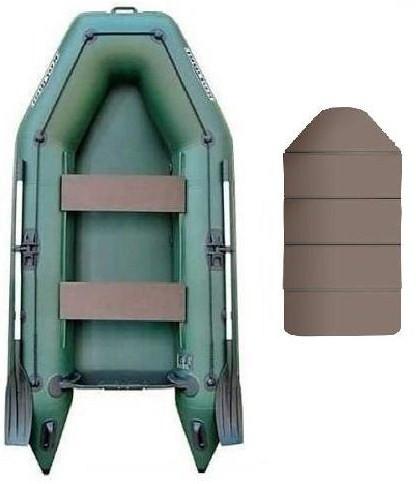 Kolibri КМ-280 book - лодка надувная моторная Колибри 280 с жестким настилом