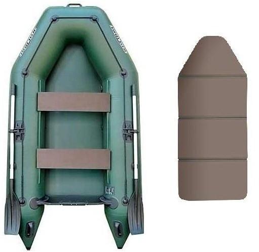 Kolibri КМ-260 book - лодка надувная моторная Колибри 260 с жестким настилом