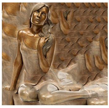 Скульптуры из бронзы