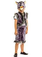 Костюм Волка: жилетка, шапка-маска, шорты с хвостиком.