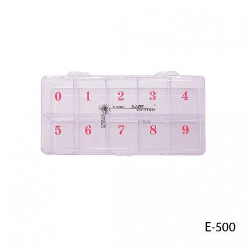 Пластмассовая тара для ногтей. E-500_LeD