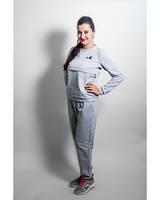 Трикотажный спортивный костюм Lullababe  New серый, фото 1