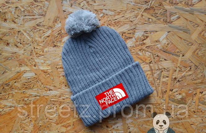 Зимняя шапка с бубоном The North Face , фото 2