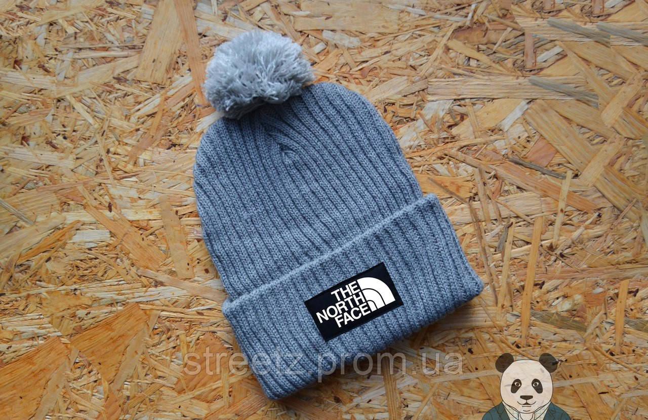Зимняя шапка с бубоном The North Face