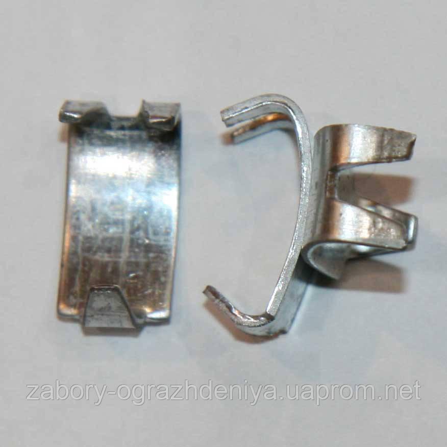 Скоба Козачка для крепления колюче режущих заграждений егоза - «Метизы-94» - Интернет-магазин в Запорожье