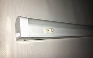 Линейный светодиодный светильник SL-7006L 18W 4000K T5 1200mm Код.57971, фото 2