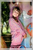 Курточка  детская вязаная