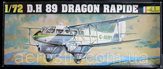 D.H 89 DRAGON RAPIDE 1/72 HELLER 345