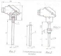 Термопреобразователь сопротивления ТСП-1188-01, ТСМ-1188-01