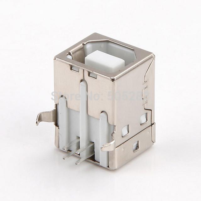 USB разъем гнездо для принтера 4 Pin
