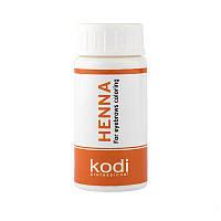 K075 Kodi Хна темный шоколад для окрашивания бровей 5 гр