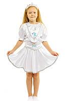 Костюм Снежинки: юбка, кофта и коронка.