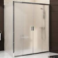 Душевые двери Ravak Blix 160 см BLDP4-160 сатин+grape 0YVS0U00ZG