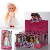 Кукла в дисплее 35004-5-6, 13х7х4 см
