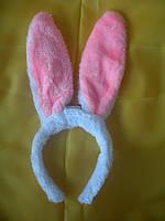 Обруч светящийся уши зайца