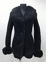 Черная дубленка Gavaricci