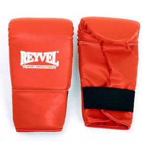 Перчатки снарядные Reyvel винил красные