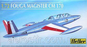 FOUGA MAGISTER CM 170 1/72 HELLER