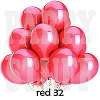 Воздушные шарики Gemar GM90 металлик красный 10' (26 см) 100 шт