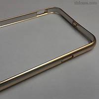 Алюминиевый бампер для iPhone 6/6s (золотой)