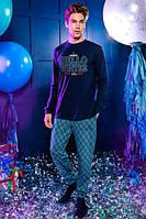 Комплект мужской( джемпер + брюки) 6112-3
