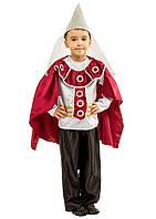 Костюм Рыцаря: кофта с кольчугой, штаны, плащ и шлем (шапка).