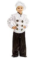 Костюм Повара:  кофта, штаны и колпак.