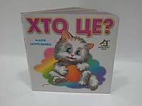 Картон КХ (А6) Хто це (кіт)