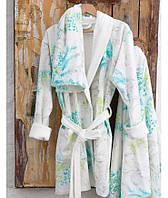 Набор халат с полотенцем Karaca Home - Casimiro 2017-1 S/M 50*90+85*150