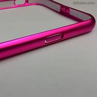 Алюминиевый бампер для iPhone 6/6s (розовый)