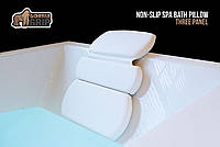 Ортопедическая подушка для ванной The Original GORILLA GRIP (TM), Luxury 3-Panel на мощных присосках., фото 1