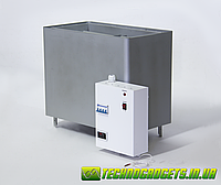 Электрокаменка Днипро Экс 6кВт 380В с электронным блоком управления