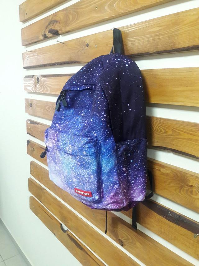 Рюкзак для школы с космическим принтом