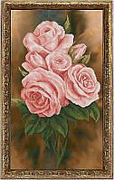 Краса и Творчисть 40516 Королева цветов 2, набор для вышивания нитками