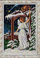Краса и Творчисть 80915 Рождественский ангел, набор для вышивания бисером