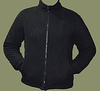 Флисовый утеплитель (кофта) co-operative, черный. Великобритания