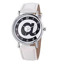 Женские наручные часы кварцевые Ladybell белые, белого цвета, черно-белые