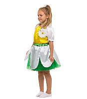 Костюм Ромашки для девочки: кофта с аппликацией, повязка и юбка с подкладкой.