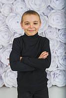 Стильный детский джемпер, черный, фото 1