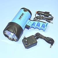 Фонарь светодиодный 3W (Cree), аккумуляторный Vipow  URZ0037