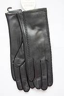 Женские кожаные перчатки из козы