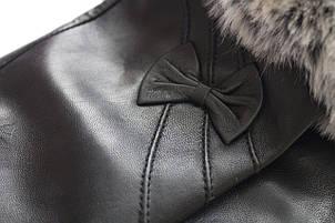 Перчатки с мехом из кожи козы БОЛЬШИЕ, фото 2