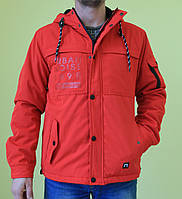 Мужская спортивная куртка Remain 7469 красный код 273б