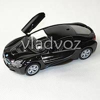 Машинка BMW i8 метал 1:32 черная