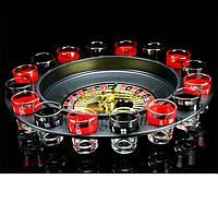 Сувенирный набор из рюмок Пьяная рулетка