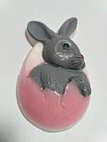 Мыло Рождественский заяц-1 , мыло ручная работа. Подарок