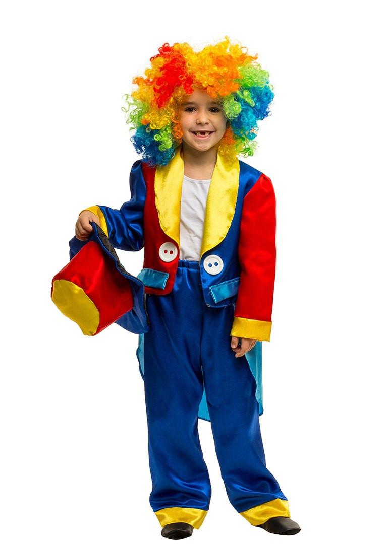 Костюм Клоуна: фрак, штаны, шапка и парик.